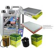 Inspection Kit Filter Liqui Moly Oil 10l 5w-30 For Mercedes-benz W639