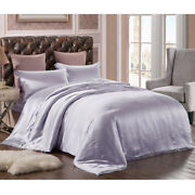 New 100 Pure Mulberry Silk 3pcs Silk Duvet Cover In Multi-color And Multi-size