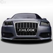 Sport Line Look Bumper Front +rs Single Frame Grill For Audi A3 8l Yr