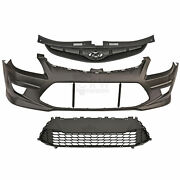 Set Bumper Front Accessories For Hyundai I30 Year 10-12 Facelift Soda Estate Cw