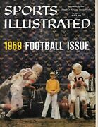 September 1959 Sports Illustrated Special College Football Issue Newsstand Copy