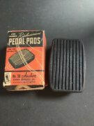 Anchor Rubber Replacement Pedal Pads 1934-39 Oldsmobile