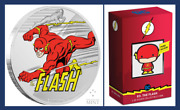 2020 Niue Justice League Chibi Coin And 60th Anniversary The Flash Dc Jla