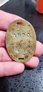 Ww2 Japanese Soldier's Dog Tag Identification Badge Military Collectible