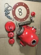 """Traverse City 5-1/4"""" Fire Hydrant Nozzle Sect Top Stem Stuffing Box Op Nut"""