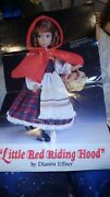 Little Red Riding Hood China Doll From Knowles By Dianna Effner, Limited Edition