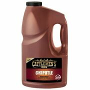 Cattlemens Bbq Chipotle Finished Barbecue Sauce, Real Sugar 1 Gallon, 2/case