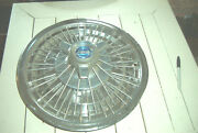 Vintage Oe 15 Inch Ford Wire Wheelcover W/3bar Spinner65-66 Galaxie
