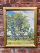 Ontario Canada And New York Post Impressionist Landscape Signed William A Drake