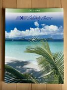 Celebrity Cruises 2002/2004 Cruise Ship Brochure, Caribbean ++ 114 Pages