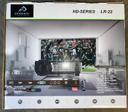 Tv Projector Prodigy Innovations Lr-22 With 72in Screen And Home Cinema Surround