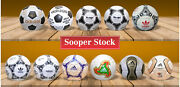 Collection Of Adidas Footballs Of World Cup 1970to2010 Leather Footballs Size 5.