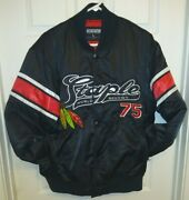 Likely Today Jeff Staple Pigeon Satin Jacket Size L Large World Renown