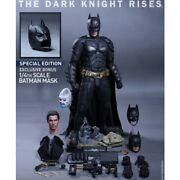 Hot Toys Dark Knight Rises Qs001 1/4 Scale Batman Action Figure Special Edition