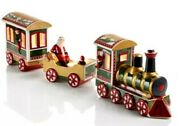 Villeroy And Boch Christmas Memory 3 Piece North Pole Express Train Set Retail300