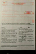 20 Pack Tax Form 1096 Annual Summary And Transmittal Use With 1099-misc Year 2019