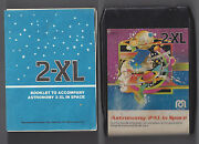 Mego Corp 2-xl Talking Robot 8 Track Tape Astronomy In Space With Booklet Works