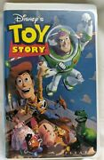 Toy Story Vhs 6703 Walt Disney Home Video Pixar Collectible 1996 Authentic