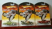 Lot Of 14 Walmart Exclusive Hot Wheels Fright Cars Halloween / Real Riders