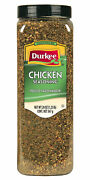 Durkee Ready-to-use Chicken Seasoning, Gluten Free 20 Oz. Container, 6 Packs