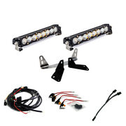 Baja Designs F-150 Dual 10 Inch S8 Light Bar Kit For 18-on Ford F-150
