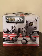 Spin Master Zoomer Interactive Robotic Black/white Dalmation Puppy Dog.works