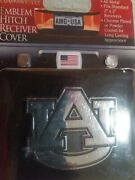 Auburn University Tigers Amg 2 Tow Hitch Receiver Plug Cover All Metal New