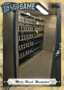 2010 Topps Update More Tales Of The Game 8 Mile-high Humidor Colorado Rockies