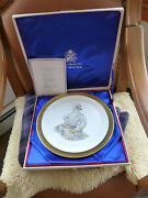 Young America 1976 Lenox Collector's Plate Boehm In Box