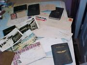 Pre Wwii Letter Etc Archive Us Pilot In S. America / Love Letters Documents....