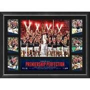 Sydney Roosters 2019 Nrl Premiers Framed Official Tribute Print Cronk Tedesco