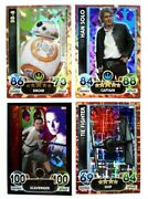 Star Wars Force Attax Extra The Force Awakens Cards -limited,promo P1-p16 -pick