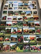 Huge Lot Of 72 Antique Power Farm Tractor Magazines 1996 - 2016 Agriculture Nice
