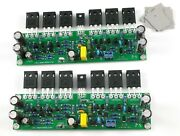 2pcs Assembled L15 Mosfet Stereo Power Amplifier Board Amp Irfp240 Irfp9240