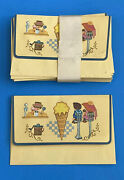 Vintage Envelope Soda Fountain Ice Cream Parlor Shop Set Mary Poppins