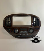 01 02 03 04 Toyota Sequoia A/c Control Temperature Panel Heater Climate Wood