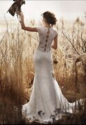 2800 Nwt Luxury Lace Designer Olviandrsquos Lace Wedding Gown Style 1988 Small Us 2-4