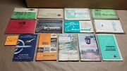 13 Assorted Gm Owner's Manual Lot Chevy Truck Oldsmobile Cadillac Pontiac
