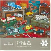 Hmk Pedal To The Metal Kiddie Cars 550-piece Jigsaw Puzzle