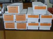 Reproduction Boxes For Lionel Postwar Engines And Tenders 10 Qty.  New Price