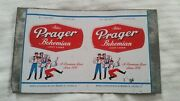 Atlas Prager Bohemian Light Beer Unrolled Flat Can Sheet 12 Oz Chicago Il