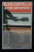 Elvis Costello And The Imposters Uk Tour Dates 2004 Small Concert Advert Promo Ad