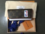 New Louis Vuitton X Nba Monogram Woody Nba Glass Case Limited Sold Out