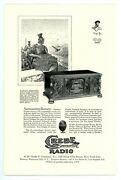 Magazine Ad For Grebe Synchrophase Radio By A.h. Grebe And Company