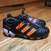 Adidas Predator Adipower Trx Fg 2011 Black/warning Orange/white V23524 Menus 8.5