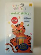 New Rare Baby Einstein Numbers Nursery Vhs-rare Vintage Collectible Free S/h