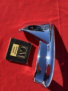 1955 Chevy Accessory Rear Bumper Wing Guards One Pr Re-chromed Show