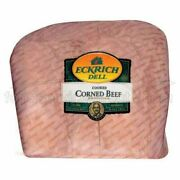 Eckrich Deli Fully Cooked Corned Beef 4.45 Oz 2 Roasts Per Case