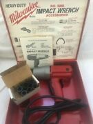 Milwaukee 9069 Impact Wrench Kit 1/2 Square Drive 120v New/old Stock