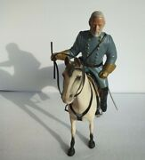 Vintage Hartland General Robert E. Lee And Horse Traveler With Sword And Box